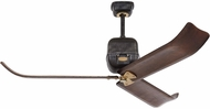 Monte Carlo Fans 3VLR60ATIHAB Volta Traditional Antique Iron / Hand-Rubbed Antique Brass 60 Ceiling Fan Light Fixture