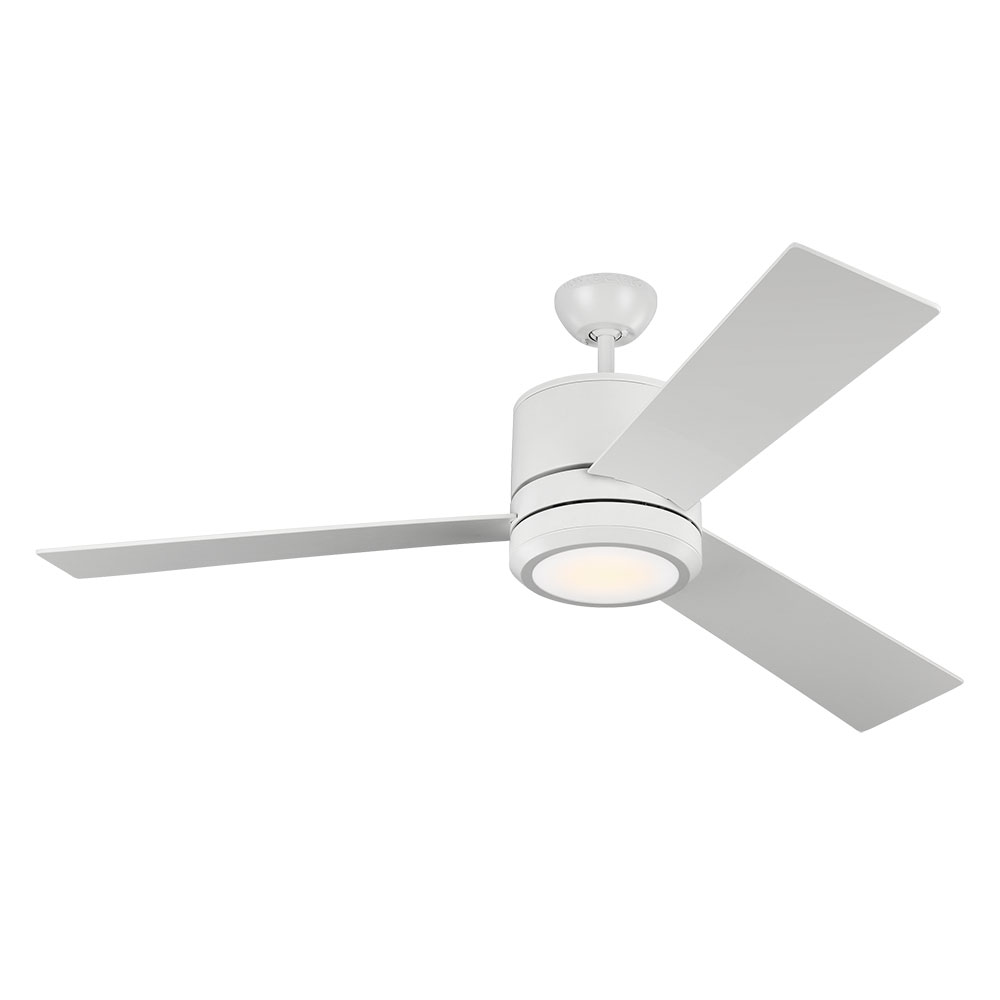 Monte Carlo Fans 3vnmr56rzwd Vision Max Contemporary Rubberized White Led Indoor Outdoor 56 Nbsp Home Loading Zoom