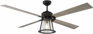 Monte Carlo Fans 4RKR60AGPD Rockland Traditional Aged Pewter 60 Home Ceiling Fan