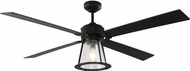Monte Carlo Fans 4RKR60MBKD Rockland Traditional Midnight Black 60 Home Ceiling Fan