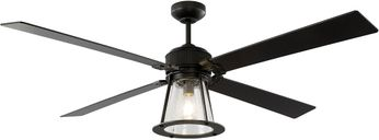 Monte Carlo Fans 4RKR60OZD Rockland Contemporary Oil Rubbed Bronze LED 60 Ceiling Fan