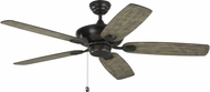 Monte Carlo Fans 5COM52AGP Colony Max Aged Pewter 52 Ceiling Fan