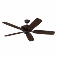 Monte Carlo Fans 5COM52RB Colony Max Roman Bronze Interior/Exterior 52  Ceiling Fan