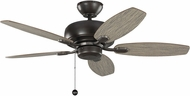 Monte Carlo Fans 5CQM44AGP Centro Max II Aged Pewter 44 Home Ceiling Fan