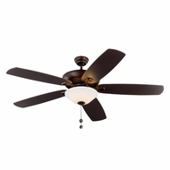 Monte Carlo Fans 5CSM60RBD Colony Super Max Plus Roman Bronze 60  Home Ceiling Fan