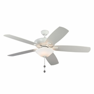 Monte Carlo Fans 5CSM60RZWD Colony Super Max Plus Rubberized White 60  Ceiling Fan