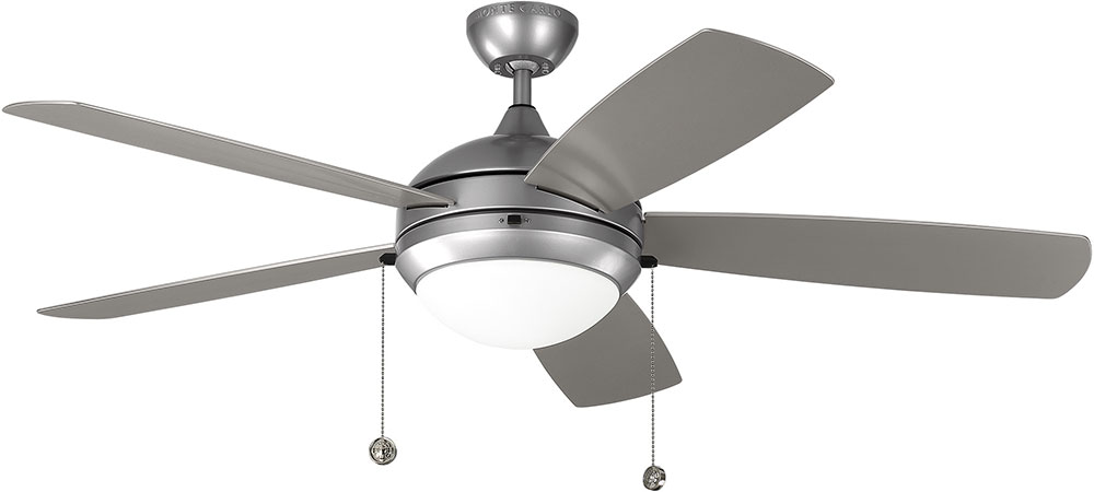Monte Carlo Fans 5diw52pbsd Discus Painted Brushed Steel