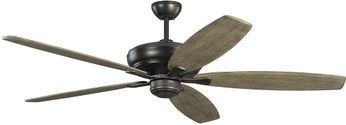 Monte Carlo Fans 5DVR60AGP Dover Aged Pewter 60 Home Ceiling Fan