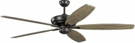 Monte Carlo Fans 5DVR68AGP Dover 68 Aged Pewter 68 Home Ceiling Fan