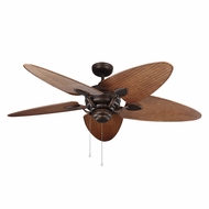 Monte Carlo Fans 5PEN56RB Peninsula Roman Bronze Outdoor 56  Home Ceiling Fan
