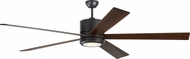 Monte Carlo Fans 5VMR72OZD Vision 72 Contemporary Oil Rubbed Bronze LED 72  Ceiling Fan