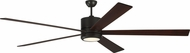 Monte Carlo Fans 5VMR84OZD Vision 84 Modern Oil Rubbed Bronze LED 84  Home Ceiling Fan