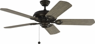 Monte Carlo Fans 5YK52AGP York 52 Aged Pewter 52  Home Ceiling Fan