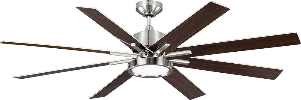 Monte Carlo Fans 8eedr60bsd Empire Dr Contemporary Brushed