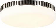 Monte Carlo Fans MC260PN Contemporary Polished Nickel LED Fan Light Fixture