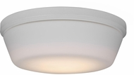 Monte Carlo Fans MC261RZW Matte White LED Ceiling Fan Light Fixture