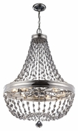 Feiss F2914-12PN Malia Polished Nickel Finish 48.25  Tall Lighting Chandelier