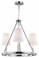 Feiss F2921-3PN Lismore Polished Nickel Finish 21  Tall Mini Chandelier Lighting