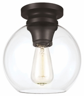 Feiss FM403ORB Tabby Retro Oil Rubbed Bronze Finish 8.5 Wide Overhead Lighting Fixture