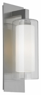 Feiss OL13001BS Salinger Brushed Steel Finish 20 Tall Exterior Wall Lighting Sconce