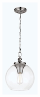 Feiss P1307PN Tabby Vintage Polished Nickel Finish 12 Wide Drop Ceiling Lighting