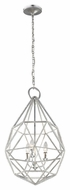 Feiss P1312SLV Marquise Contemporary Silver Finish 17.625  Wide Pendant Lighting Fixture