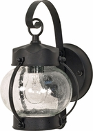 Nuvo 60-3459 Onion Textured Black Outdoor Wall Lighting