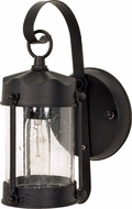Nuvo 60-3462 Piper Textured Black Exterior Lighting Sconce