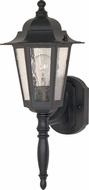 Nuvo 60-3472 Cornerstone Textured Black Outdoor Wall Light Fixture