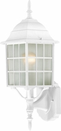 Nuvo 60-3477 Adams White Exterior Wall Mounted Lamp