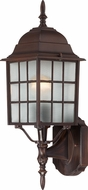 Nuvo 60-3478 Adams Rustic Bronze Outdoor Wall Light Sconce