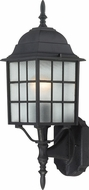 Nuvo 60-3479 Adams Textured Black Exterior Wall Lighting Fixture