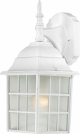Nuvo 60-3480 Adams White Outdoor Wall Light Sconce