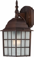 Nuvo 60-3481 Adams Rustic Bronze Exterior Wall Sconce Light