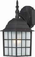 Nuvo 60-3482 Adams Textured Black Outdoor Wall Sconce