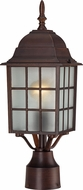 Nuvo 60-3483 Adams Rustic Bronze Exterior Post Lighting