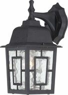 Nuvo 60-3486 Banyan Textured Black Outdoor Sconce Lighting