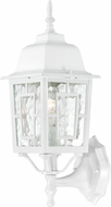 Nuvo 60-3487 Banyan White Exterior Light Sconce