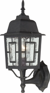 Nuvo 60-3489 Banyan Textured Black Exterior Lamp Sconce