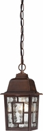 Nuvo 60-3490 Banyan Rustic Bronze Outdoor Pendant Light