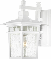 Nuvo 60-3491 Cove Neck White Exterior Wall Sconce Lighting