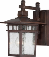 Nuvo 60-3492 Cove Neck Rustic Bronze Outdoor Wall Light Fixture
