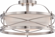 Nuvo 60-5331 Ginger Brushed Nickel Ceiling Lighting
