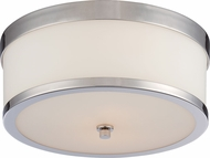 Nuvo 60-5476 Celine Polished Nickel Ceiling Light Fixture