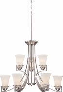 Nuvo 60-5489 Neval Brushed Nickel Lighting Chandelier