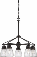 Nuvo 60-5545 Laurel Sudbury Bronze Hanging Chandelier