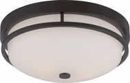 Nuvo 60-5586 Neval Sudbury Bronze Overhead Light Fixture
