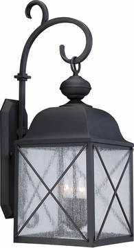Nuvo 60-5623 Wingate Textured Black 10 Wall Light Sconce