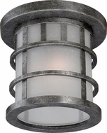 Nuvo 60-5636 Manor Aged Silver Ceiling Light