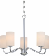 Nuvo 60-5805 Willow Polished Nickel Chandelier Lamp